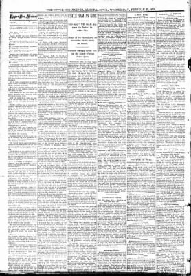 The Algona Upper Des Moines from Algona, Iowa on February 22, 1893 · Page 2