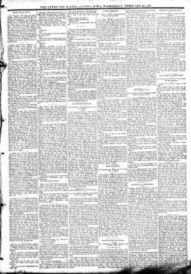 The Algona Upper Des Moines from Algona, Iowa on February 22, 1893 · Page 3