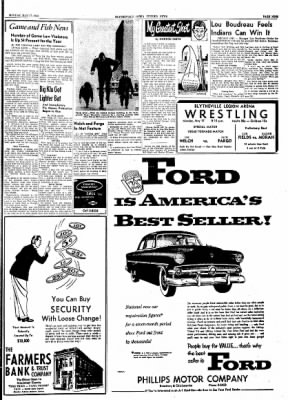 The Courier News from Blytheville, Arkansas on May 17, 1954 · Page 9