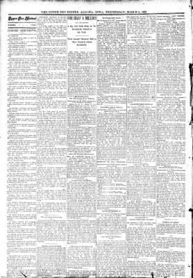 The Algona Upper Des Moines from Algona, Iowa on March 8, 1893 · Page 2