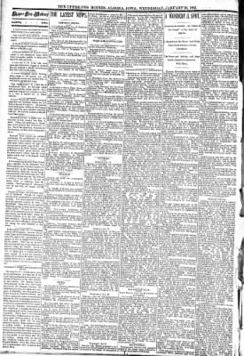 The Algona Upper Des Moines from Algona, Iowa on January 20, 1892 · Page 2