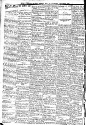 The Algona Upper Des Moines from Algona, Iowa on January 27, 1892 · Page 2