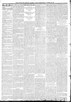 The Algona Upper Des Moines from Algona, Iowa on March 22, 1893 · Page 2