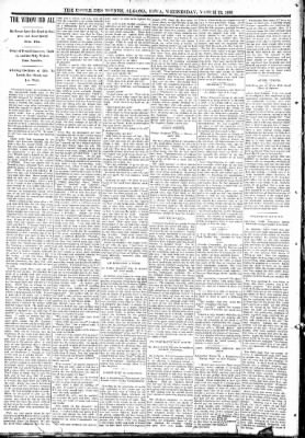 The Algona Upper Des Moines from Algona, Iowa on March 22, 1893 · Page 6