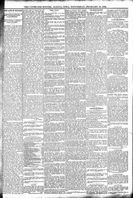 The Algona Upper Des Moines from Algona, Iowa on February 10, 1892 · Page 5