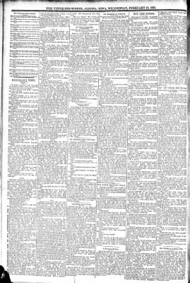 The Algona Upper Des Moines from Algona, Iowa on February 10, 1892 · Page 6