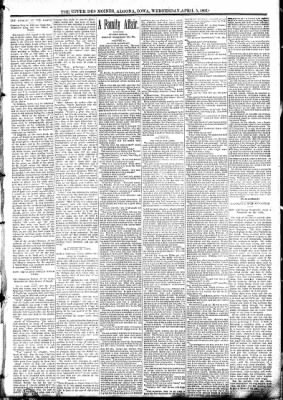 The Algona Upper Des Moines from Algona, Iowa on April 5, 1893 · Page 3