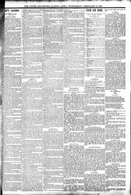 The Algona Upper Des Moines from Algona, Iowa on February 17, 1892 · Page 3