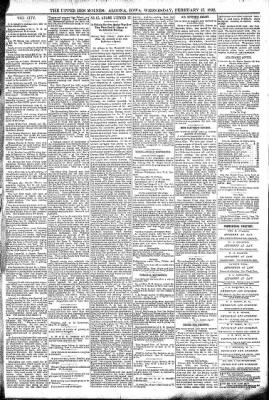 The Algona Upper Des Moines from Algona, Iowa on February 17, 1892 · Page 5