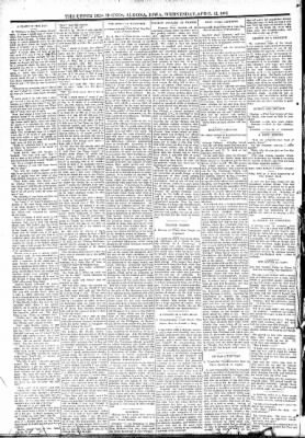 The Algona Upper Des Moines from Algona, Iowa on April 12, 1893 · Page 6