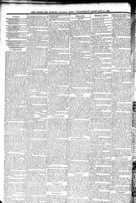 The Algona Upper Des Moines from Algona, Iowa on February 24, 1892 · Page 6