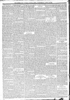 The Algona Upper Des Moines from Algona, Iowa on April 19, 1893 · Page 6