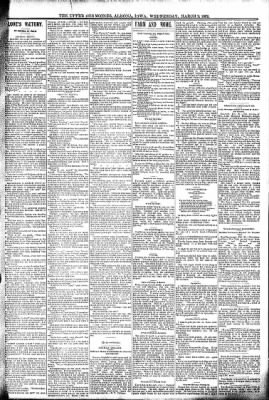 The Algona Upper Des Moines from Algona, Iowa on March 2, 1892 · Page 3