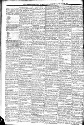The Algona Upper Des Moines from Algona, Iowa on March 9, 1892 · Page 6