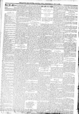 The Algona Upper Des Moines from Algona, Iowa on May 3, 1893 · Page 2