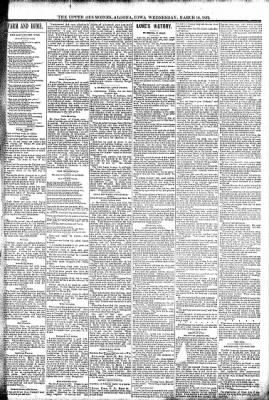 The Algona Upper Des Moines from Algona, Iowa on March 16, 1892 · Page 3