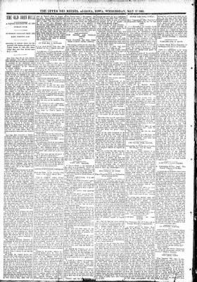 The Algona Upper Des Moines from Algona, Iowa on May 17, 1893 · Page 6