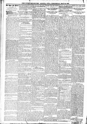 The Algona Upper Des Moines from Algona, Iowa on May 24, 1893 · Page 4