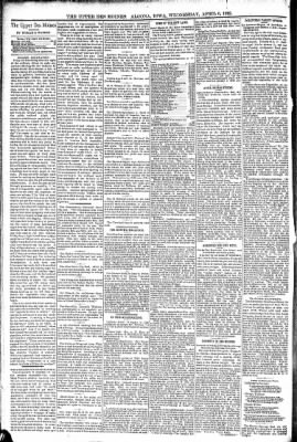 The Algona Upper Des Moines from Algona, Iowa on April 6, 1892 · Page 4