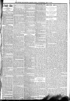 The Algona Upper Des Moines from Algona, Iowa on May 31, 1893 · Page 3