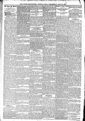 The Algona Upper Des Moines from Algona, Iowa on May 31, 1893 · Page 4