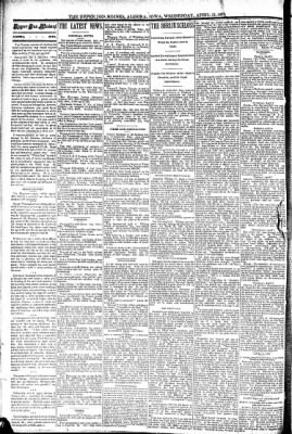The Algona Upper Des Moines from Algona, Iowa on April 13, 1892 · Page 2