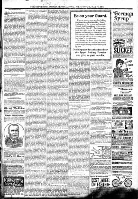 The Algona Upper Des Moines from Algona, Iowa on May 31, 1893 · Page 7
