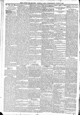 The Algona Upper Des Moines from Algona, Iowa on June 7, 1893 · Page 4