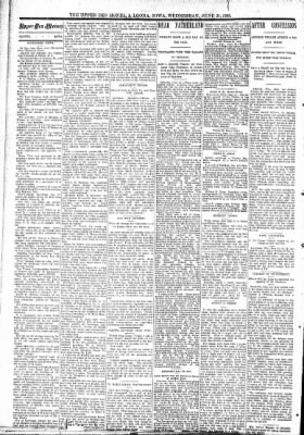 The Algona Upper Des Moines from Algona, Iowa on June 21, 1893 · Page 2