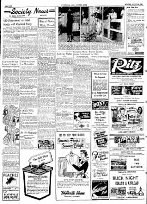 The Courier News from Blytheville, Arkansas on August 24, 1953 · Page 2