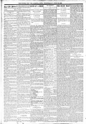 The Algona Upper Des Moines from Algona, Iowa on June 28, 1893 · Page 2