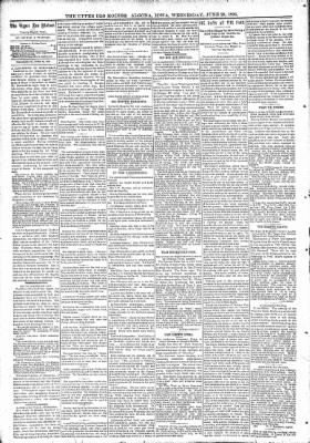 The Algona Upper Des Moines from Algona, Iowa on June 28, 1893 · Page 4