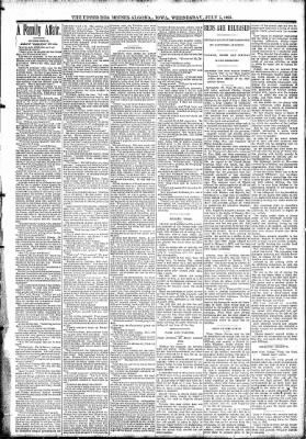The Algona Upper Des Moines from Algona, Iowa on July 5, 1893 · Page 3