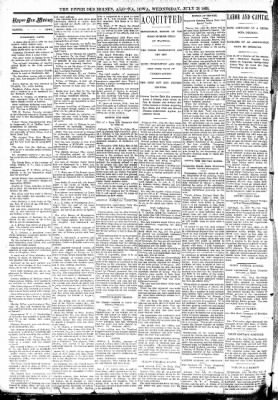 The Algona Upper Des Moines from Algona, Iowa on July 26, 1893 · Page 2