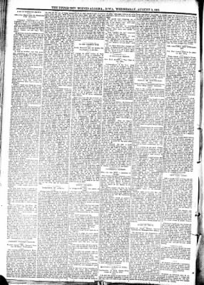 The Algona Upper Des Moines from Algona, Iowa on August 9, 1893 · Page 7