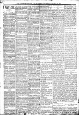 The Algona Upper Des Moines from Algona, Iowa on August 16, 1893 · Page 7