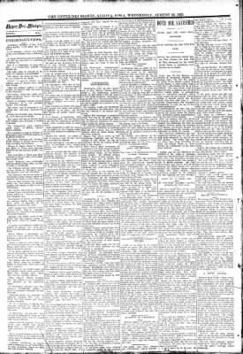 The Algona Upper Des Moines from Algona, Iowa on August 23, 1893 · Page 2