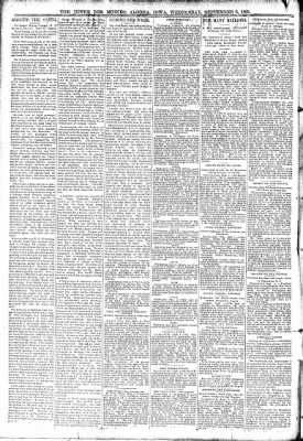 The Algona Upper Des Moines from Algona, Iowa on September 6, 1893 · Page 2