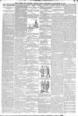 The Algona Upper Des Moines from Algona, Iowa on September 13, 1893 · Page 6