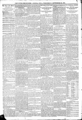 The Algona Upper Des Moines from Algona, Iowa on September 27, 1893 · Page 4