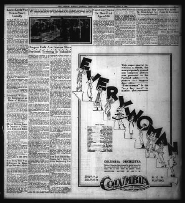 The Oregon Daily Journal from Portland, Oregon on June 6, 1920 · Page 47