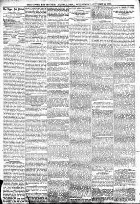 The Algona Upper Des Moines from Algona, Iowa on October 25, 1893 · Page 4