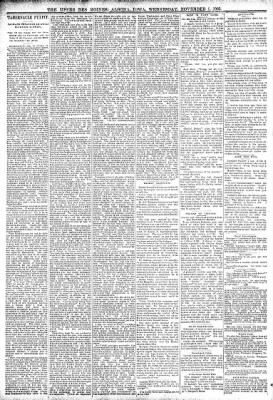 The Algona Upper Des Moines from Algona, Iowa on November 1, 1893 · Page 7
