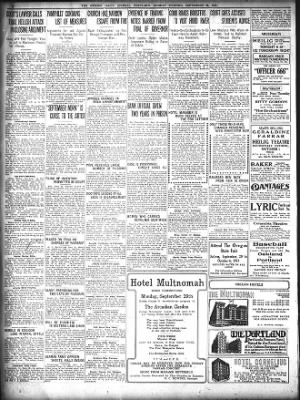 The Oregon Daily Journal from Portland, Oregon on September 29, 1913 · Page 2