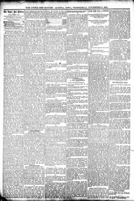 The Algona Upper Des Moines from Algona, Iowa on November 8, 1893 · Page 6