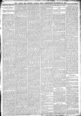The Algona Upper Des Moines from Algona, Iowa on November 15, 1893 · Page 5