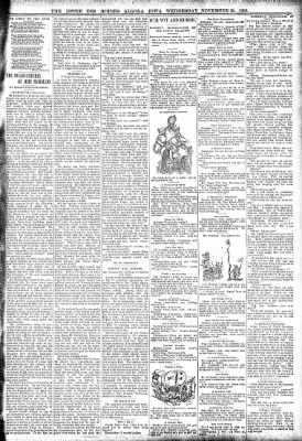 The Algona Upper Des Moines from Algona, Iowa on November 29, 1893 · Page 3