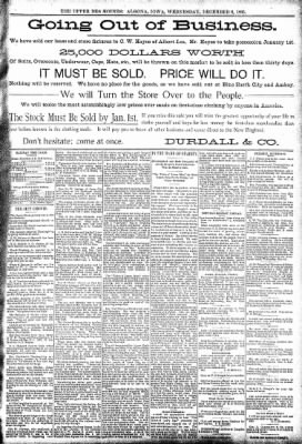 The Algona Upper Des Moines from Algona, Iowa on December 6, 1893 · Page 5