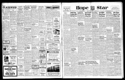 Hope Star from Hope, Arkansas on August 26, 1946 · Page 1