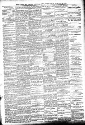 The Algona Upper Des Moines from Algona, Iowa on January 24, 1894 · Page 5